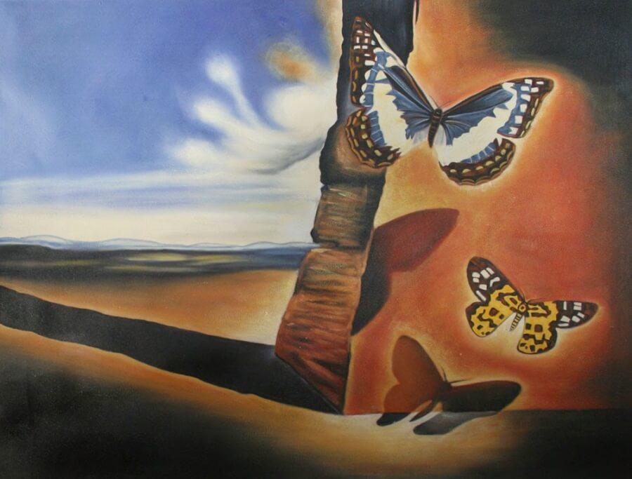 Salvador Dali: Táj pillangókkal